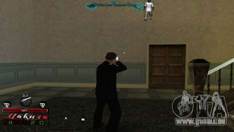 Yakudza HUD für GTA San Andreas zweiten Screenshot