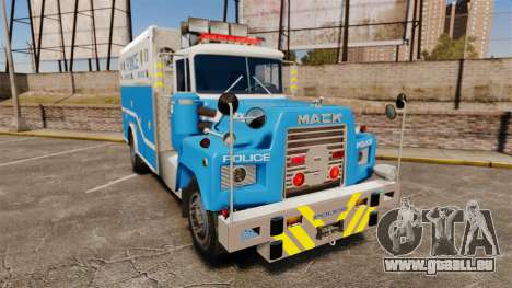 Mack R Bronx 1993 NYPD Emergency Service [ELS] pour GTA 4