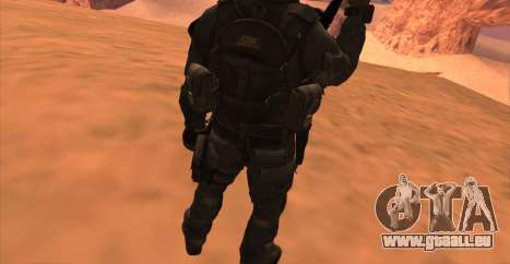 Le lieutenant David l'hesh Walker из Call Of Dut pour GTA San Andreas septième écran