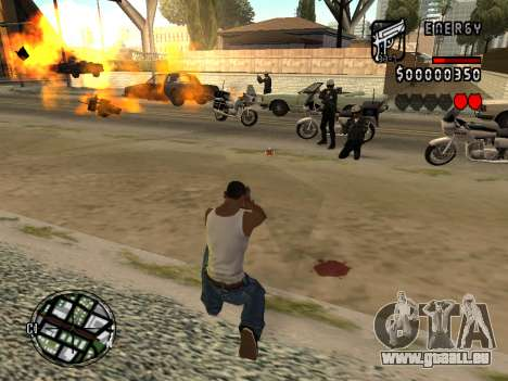 C-HUD Energy für GTA San Andreas her Screenshot