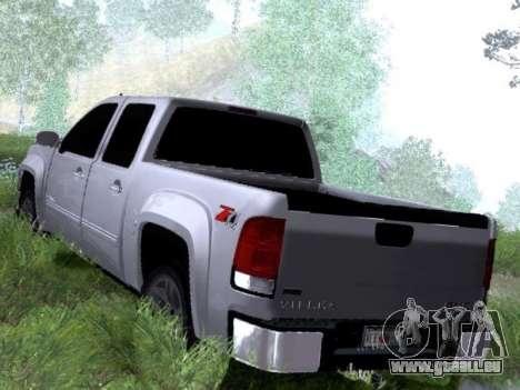 GMC Sierra SLT pour GTA San Andreas vue de droite