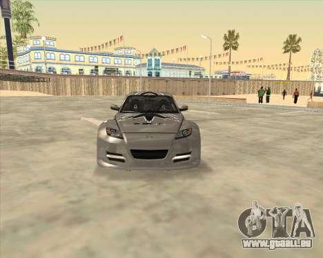 Mazda RX-8 из NFS Most Wanted für GTA San Andreas rechten Ansicht