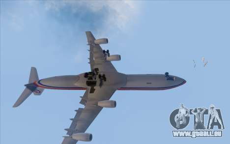 Airbus A340-300 China Eastern pour GTA San Andreas vue intérieure