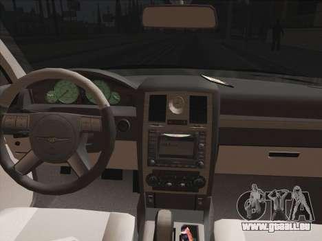 Chrysler 300C 2009 für GTA San Andreas Seitenansicht