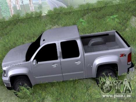 GMC Sierra SLT für GTA San Andreas zurück linke Ansicht
