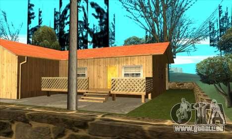 Nouvelle maison de Sijia en Palomino Pleurer pour GTA San Andreas troisième écran