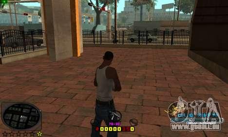 C-HUD Old-Rifa pour GTA San Andreas deuxième écran