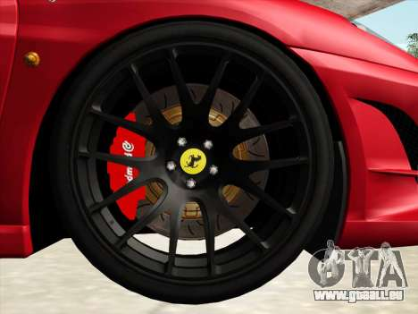 Ferrari F430 Scuderia für GTA San Andreas Seitenansicht