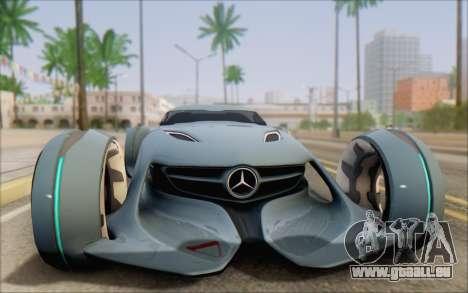 Mercedes-Benz SilverArrow für GTA San Andreas rechten Ansicht