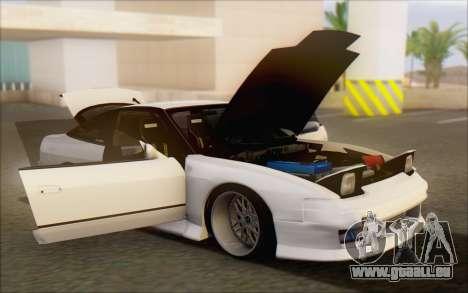 Nissan 240sx Blister für GTA San Andreas Innen