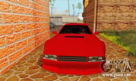 New Cheetah v1.0 pour GTA San Andreas laissé vue
