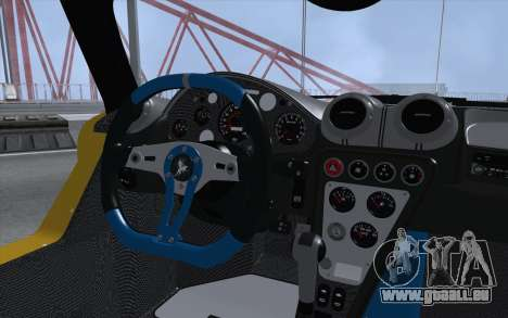 Gumpert Apollo S Autovista für GTA San Andreas Rückansicht