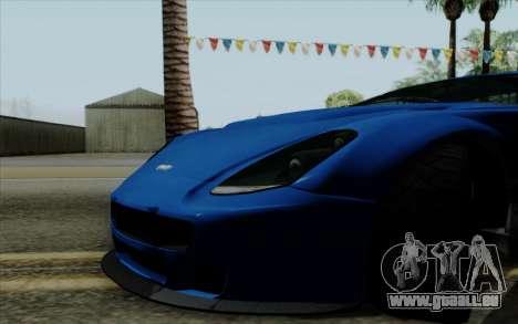 Rapid GT pour GTA San Andreas vue de droite