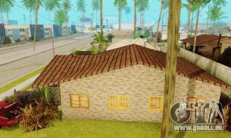 Neue Texturen des Hauses Denis für GTA San Andreas dritten Screenshot