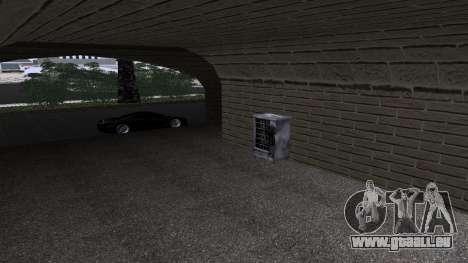 Neue Texturen Bahnhof in Las Venturas für GTA San Andreas zweiten Screenshot
