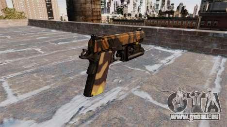 Halb-automatische Pistole Kimber Fallen Camos für GTA 4 Sekunden Bildschirm
