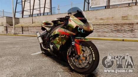 Kawasaki Ninja ZX-6R v2.0 pour GTA 4