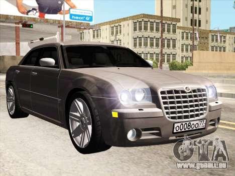 Chrysler 300C 2009 pour GTA San Andreas laissé vue