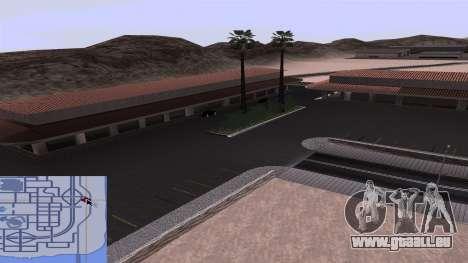 Neue Texturen Bahnhof in Las Venturas für GTA San Andreas sechsten Screenshot