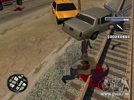 C-HUD Deagle für GTA San Andreas sechsten Screenshot
