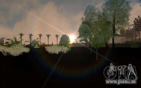 ENBSeries von AVATAR 4.0 Final für die schwachen für GTA San Andreas zweiten Screenshot