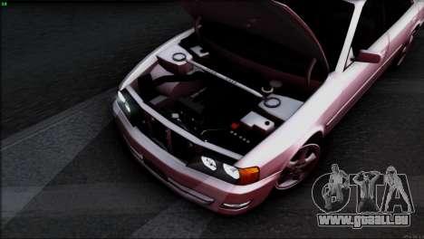 Toyota Chaser Tourer V pour GTA San Andreas moteur