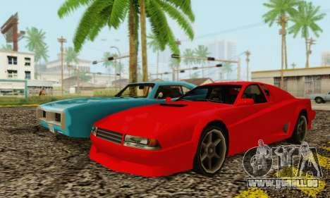 New Cheetah v1.0 für GTA San Andreas rechten Ansicht