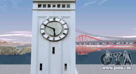 RoSA Project v1.5 San-Fierro pour GTA San Andreas troisième écran