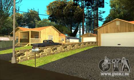 Neue Dorf Gillemyr v1.0 für GTA San Andreas her Screenshot