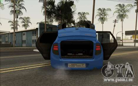 Lada Granta für GTA San Andreas Rückansicht