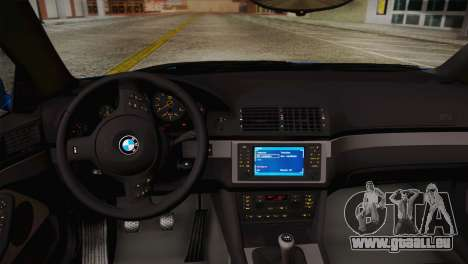 BMW E39 M5 2003 pour GTA San Andreas vue de côté