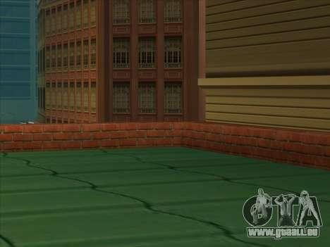 Le nouveau dépôt à San Piero pour GTA San Andreas troisième écran