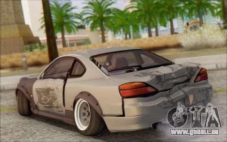 Nissan Silvia S15 Fail Camber pour GTA San Andreas vue de dessus