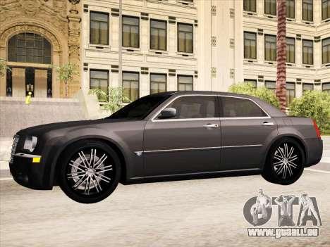 Chrysler 300C 2009 pour GTA San Andreas salon