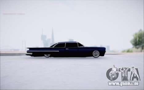 Voodoo Low Car v.1 pour GTA San Andreas sur la vue arrière gauche