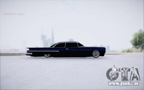 Voodoo Low Car v.1 für GTA San Andreas zurück linke Ansicht