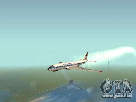 Tu-A für GTA San Andreas zurück linke Ansicht