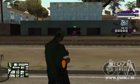 C-HUD SWAG pour GTA San Andreas deuxième écran
