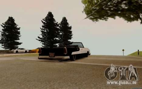 Océanique Convertible pour GTA San Andreas vue de droite