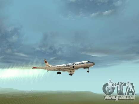 Tu-A für GTA San Andreas obere Ansicht