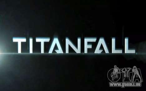 Les écrans de démarrage et de menus Titanfall pour GTA San Andreas