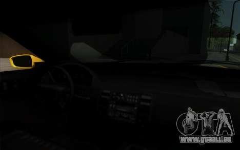 Buffalo Taxi pour GTA San Andreas vue de droite