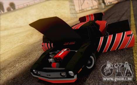 AMC Javelin für GTA San Andreas Rückansicht