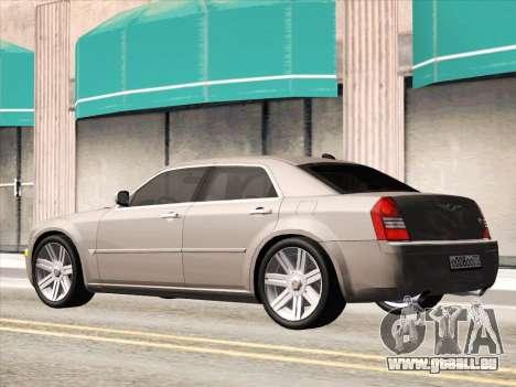 Chrysler 300C 2009 pour GTA San Andreas vue intérieure