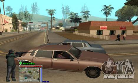 C-HUD Grove by Krutoyses für GTA San Andreas zweiten Screenshot