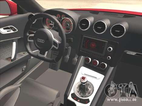 Audi TT RS 2010 für GTA San Andreas rechten Ansicht