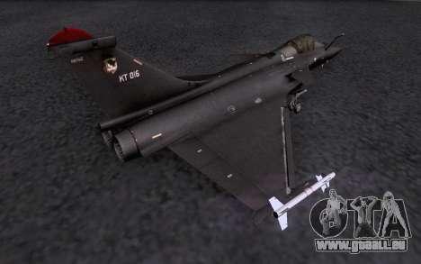 Dassault Rafale M pour GTA San Andreas moteur