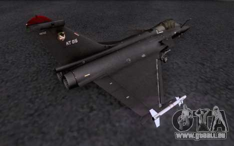 Dassault Rafale M für GTA San Andreas Motor