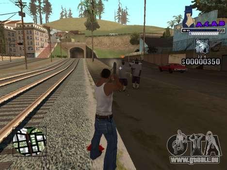 C-HUD new A.C.A.B pour GTA San Andreas quatrième écran