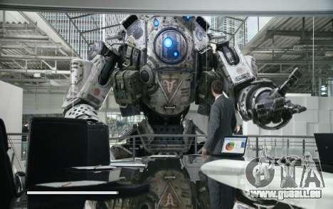 Les écrans de démarrage et de menus Titanfall pour GTA San Andreas septième écran